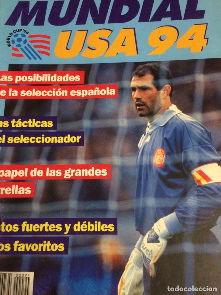 GUIA MUNDIAL USA 94 (Coleccionismo Deportivo - Revistas y Periódicos - otros Fútbol)