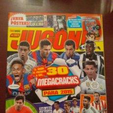 Coleccionismo deportivo: REVISTA JUGÓN 101 + HOJAS MERCADO INVIERNO +ACTUALIZACIÓN 14/15. Lote 159708164