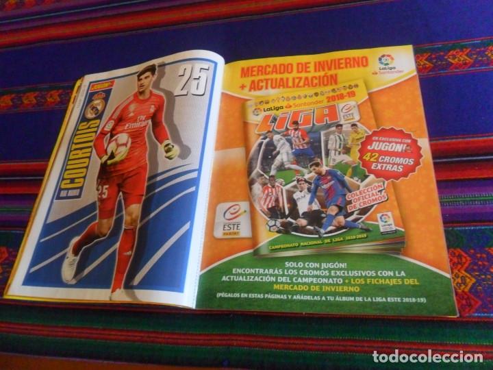 Coleccionismo deportivo: JUGÓN 117, 118 GUÍA LIGA 2016 17, 123 MERCADO INVIERNO Y ACTUALIZACIÓN, 146 MERCADO INVIERNO 2018 19 - Foto 8 - 107913903