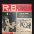 Coleccionismo deportivo: R.B. REVISTA BARCELONISTA - Nº 335 - 31 AGOSTO 1971 - GAMPER, VALIOSO TROFEO, FUTBOL MEDIOCRE. Lote 160230054