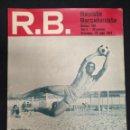 Coleccionismo deportivo: R.B. REVISTA BARCELONISTA - Nº 486 - 23 JULIO 1974 - MORA, VERANO 1974. Lote 160230474