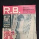 Coleccionismo deportivo: R.B. REVISTA BARCELONISTA - Nº 485 - 16 JULIO 1974 - SOTIL, ME NACIONALIZO ESPAÑOL. Lote 160231254