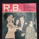 Coleccionismo deportivo: R.B. REVISTA BARCELONISTA - Nº 484 - 9 JULIO 1974 - ASENSI, LOS FUTBOLISTAS SE CASAN EN VERANO. Lote 160231414