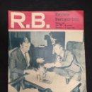 Coleccionismo deportivo: R.B. REVISTA BARCELONISTA - Nº 319 - 11 MAYO 1971 - TE PARA DOS ¿Y LA COPA?. Lote 160231766