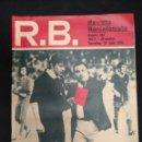 Coleccionismo deportivo: R.B. REVISTA BARCELONISTA - Nº 481 - 18 JUNIO 1974 - LO QUE MERECIO RIGO, TARJETA ROJA. Lote 160231914
