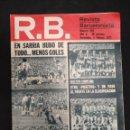 Coleccionismo deportivo: R.B. REVISTA BARCELONISTA - Nº 462 - 5 FEBRERO 1974 - EN SARRIA HUBO DE TODO...MENOS GOLES. Lote 160232042
