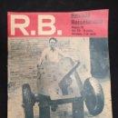 Coleccionismo deportivo: R.B. REVISTA BARCELONISTA - Nº 331 - 3 AGOSTO 1971 - MICHELS, PREPARADO. Lote 160232534