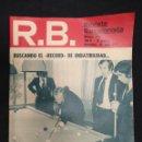 Coleccionismo deportivo: R.B. REVISTA BARCELONISTA - Nº 474 - 30 ABRIL 1974 - LA CARAMBOLA SALIO MAL. Lote 160232886