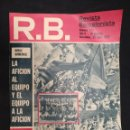 Coleccionismo deportivo: R.B. REVISTA BARCELONISTA - Nº 473 - 23 ABRIL 1974 - DOBLE HOMENAJE. Lote 160233022