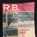 Coleccionismo deportivo: R.B. REVISTA BARCELONISTA - Nº 321 - 25 MAYO 1971 - 3 GOLES A IRIBAR Y VIA LIBRE. Lote 160233378