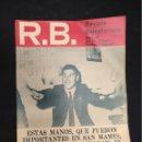Coleccionismo deportivo: R.B. REVISTA BARCELONISTA - Nº 320 - 18 MAYO 1971 - ATHLETIC BILBAO 1 - BARCELONA 0. Lote 160233642