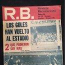 Coleccionismo deportivo: R.B. REVISTA BARCELONISTA - Nº 349 - 7 DICIEMBRE 1971 - LOS GOLES HAN VUELTO AL ESTADIO. Lote 160233758