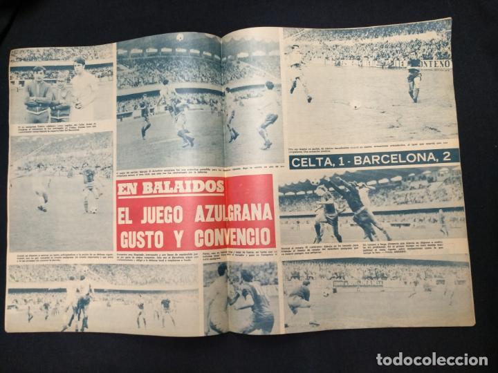 Coleccionismo deportivo: R.B. REVISTA BARCELONISTA - Nº 362 - 7 MARZO 1972 - CELTA 1 - BARCELONA 2 - Foto 2 - 160233918