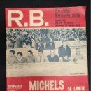 Coleccionismo deportivo: R.B. REVISTA BARCELONISTA - Nº 361 - 29 FEBRERO 1972 - SUSPENSO PARA EL ENTRENADOR. Lote 160234090