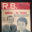 Coleccionismo deportivo: R.B. REVISTA BARCELONISTA - Nº 360 - 22 FEBRERO 1972 - AT. MADRID 1 - BARCELONA 1. Lote 160234262