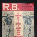 Coleccionismo deportivo: R.B. REVISTA BARCELONISTA - Nº 359 - 15 FEBRERO 1972 - BARCELONA 1 - SPORTING GIJON 0. Lote 160234418