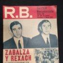 Coleccionismo deportivo: R.B. REVISTA BARCELONISTA - Nº 358 - 8 FEBRERO 1972 - LAS PALMAS 1 - BARCELONA 2. Lote 160234614