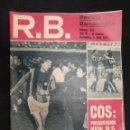 Coleccionismo deportivo: R.B. REVISTA BARCELONISTA - Nº 418 - 3 ABRIL 1973 - COS, PRESENTACION Y GOLEADOR. Lote 160234854