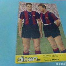 Coleccionismo deportivo: DICEN REVISTA DEPORTIVA,Nº 191, 1956,. Lote 160335974
