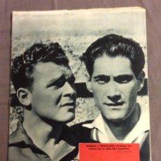 Coleccionismo deportivo: REVISTA DICEN N- 230. KUBALA Y RAMALLETS. 9 MARZO 1957. Lote 160455506
