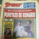 Coleccionismo deportivo: PERIÓDICO DIARIO SPORT 17 ENERO 1994. Lote 160475846