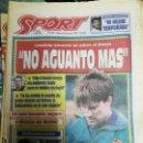 Coleccionismo deportivo: PERIÓDICO DIARIO SPORT 24 MAYO 1994. Lote 160475906