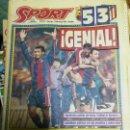 Coleccionismo deportivo: PERIÓDICO DIARIO SPORT 13 MARZO 1994. Lote 160475998
