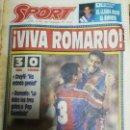 Coleccionismo deportivo: PERIÓDICO DIARIO SPORT 6 SEPTIEMBRE 1993. Lote 160476278