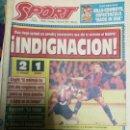Coleccionismo deportivo: PERIÓDICO DIARIO SPORT 31 ENERO 1993. Lote 160476454