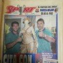 Coleccionismo deportivo: PERIÓDICO DIARIO SPORT 18 MAYO 1994. Lote 160476590
