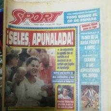 Coleccionismo deportivo: PERIÓDICO DIARIO SPORT 1 MAYO 1993. Lote 160476662