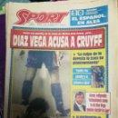 Coleccionismo deportivo: PERIÓDICO DIARIO SPORT 1 FEBRERO 1993. Lote 160476826