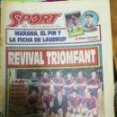 Coleccionismo deportivo: PERIÓDICO DIARIO SPORT 18 FEBRERO 1994. Lote 160476962