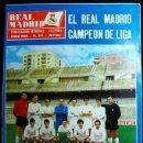 Coleccionismo deportivo: REAL MADRID REVISTA MENSUAL JUNIO 1968 - CAMPEON DE LIGA -. Lote 160527494