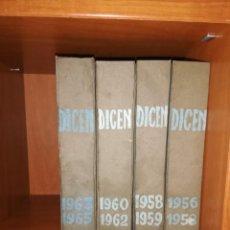 Coleccionismo deportivo: DICEN 4 TOMOS ENCUADERNADOS 1956 - 1965. Lote 160965342