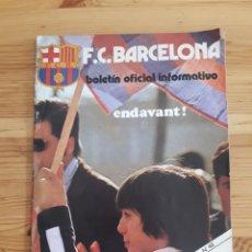 Coleccionismo deportivo: FC BARCELONA BOLETIN BARÇA FUTBOL Nº48 1975. Lote 161114766