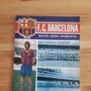 Coleccionismo deportivo: FC BARCELONA BOLETIN BARÇA FUTBOL Nº36 1974. Lote 161115102