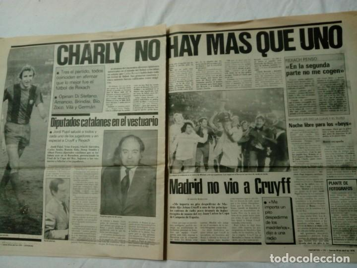 Coleccionismo deportivo: CATALUNYA EXPRESS * 20 de Abril 1978 * Edición Especial: Barça Campió Año III. 411 - Foto 2 - 161290126