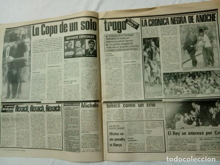 Coleccionismo deportivo: CATALUNYA EXPRESS * 20 de Abril 1978 * Edición Especial: Barça Campió Año III. 411 - Foto 3 - 161290126