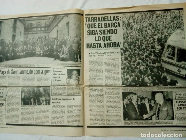 Coleccionismo deportivo: CATALUNYA EXPRESS * 20 de Abril 1978 * Edición Especial: Barça Campió Año III. 411 - Foto 4 - 161290126