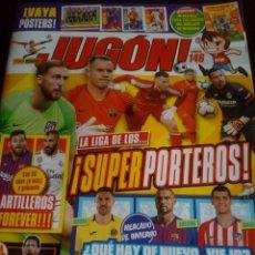 Coleccionismo deportivo: REVISTA JUGON N° 146 CON MINIPOSTERS. Lote 162305766