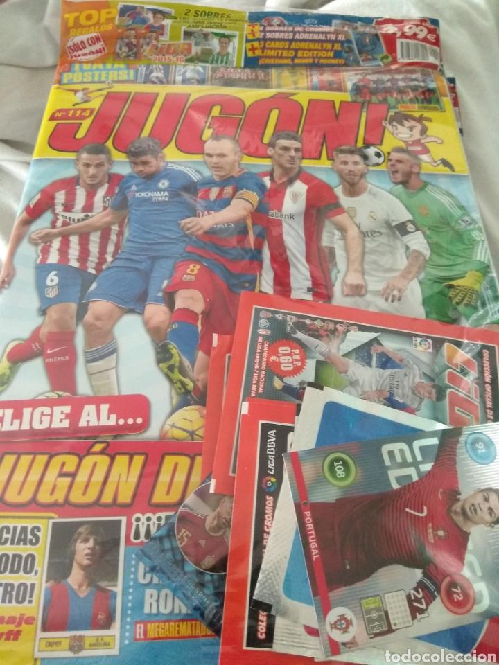 JUGÓN NÚMERO 114 PRECINTADA + MERCADO INVIERNO + SOBRES + LIMITADAS (Coleccionismo Deportivo - Revistas y Periódicos - otros Fútbol)