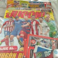 Coleccionismo deportivo: JUGÓN NÚMERO 114 PRECINTADA + MERCADO INVIERNO + SOBRES + LIMITADAS. Lote 162902004