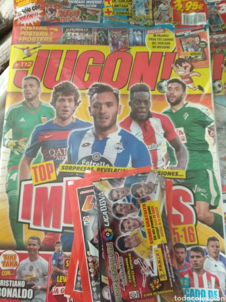 JUGÓN NÚMERO 112 PRECINTADA + MERCADO INVIERNO + SOBRES + LIMITADAS (Coleccionismo Deportivo - Revistas y Periódicos - otros Fútbol)