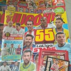 Coleccionismo deportivo: JUGÓN NÚMERO 124 PRECINTADA + MERCADO INVIERNO + SOBRES + CARD LIMITADA. Lote 162903942