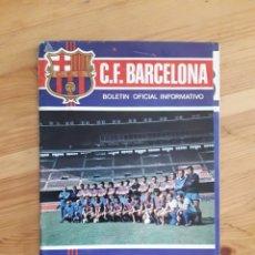 Coleccionismo deportivo: BOLETIN BARÇA FC BARCELONA NO 32 1973 FUTBOL CON SUPLEMENTO PEQUES MAINADA. Lote 163331253
