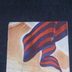 Coleccionismo deportivo: CLUB DE FÚTBOL BARCELONA-NOVIEMBRE 1954-RADIO IBERIA-ALFREDO DI STEFANO. Lote 163389614