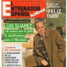 Coleccionismo deportivo: EL ENTRENADOR ESPAÑOL FUTBOL. Nº 38. DICIEMBRE 1988 (B/58). Lote 163611302