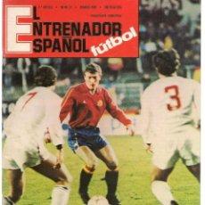 Coleccionismo deportivo: EL ENTRENADOR ESPAÑOL FUTBOL. Nº 31. MARZO 1987. (B/58). Lote 163612390