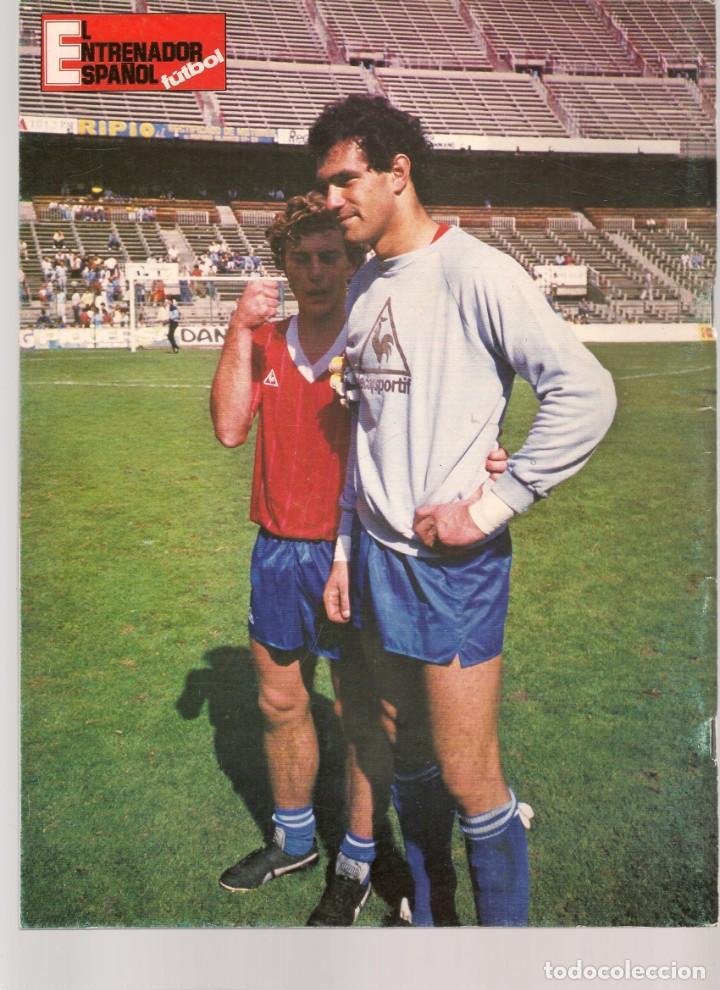 Coleccionismo deportivo: EL ENTRENADOR ESPAÑOL FUTBOL. Nº 26 DICIEMBRE 1985. (B/58) - Foto 3 - 163613234